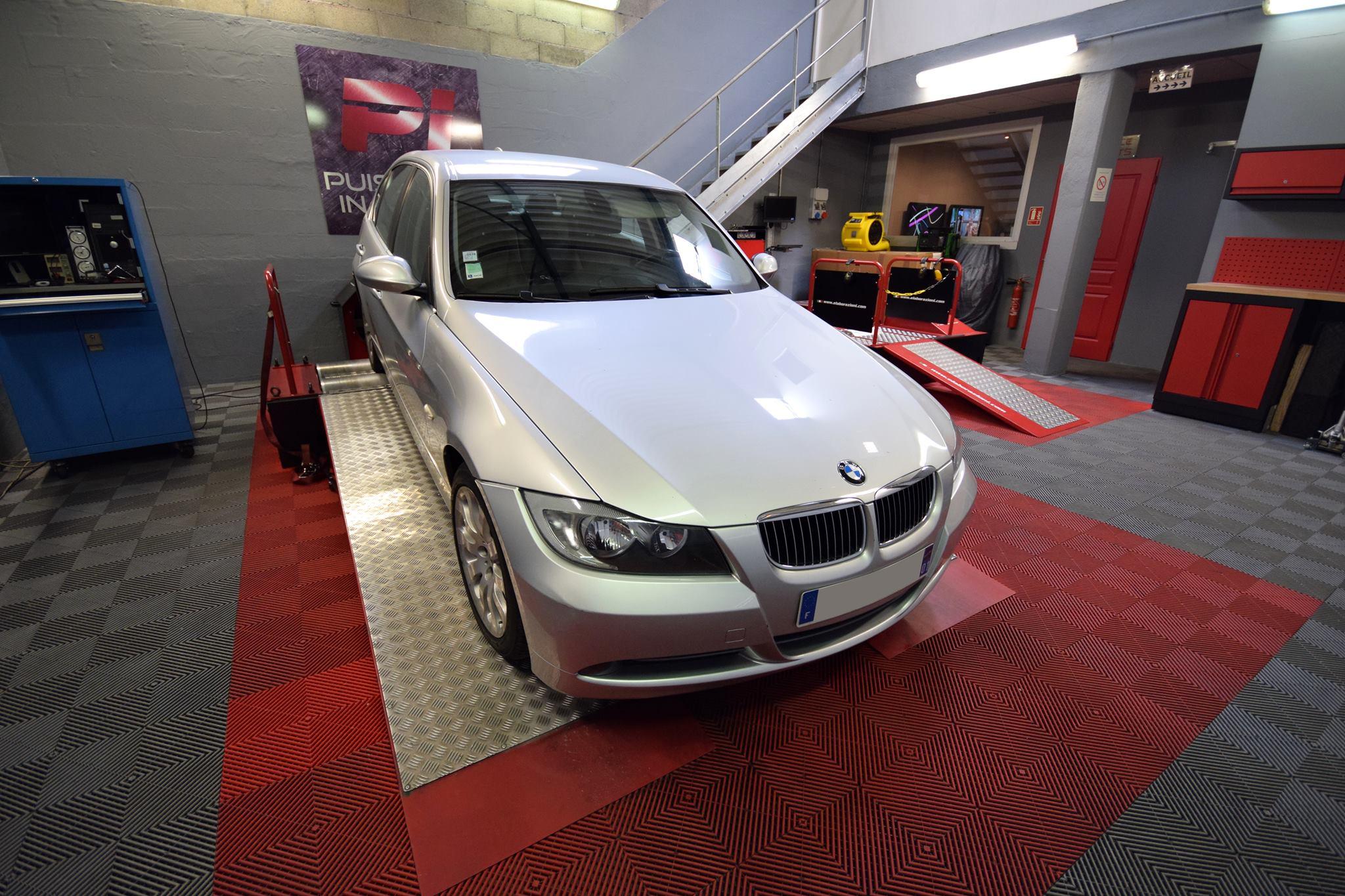 Reprogrammation moteur BMW Série 3 E90 316d 115