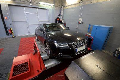 Reprogrammation moteur Audi A5 Mk1 3.0 TDI 240