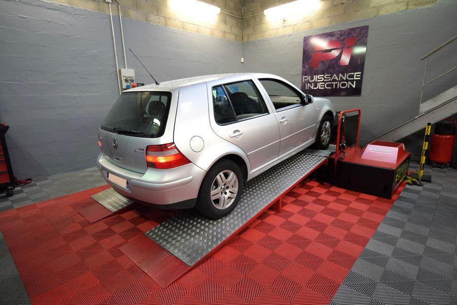 Reprogrammation moteur Volkswagen Golf 4 1.8 20V GTi 150