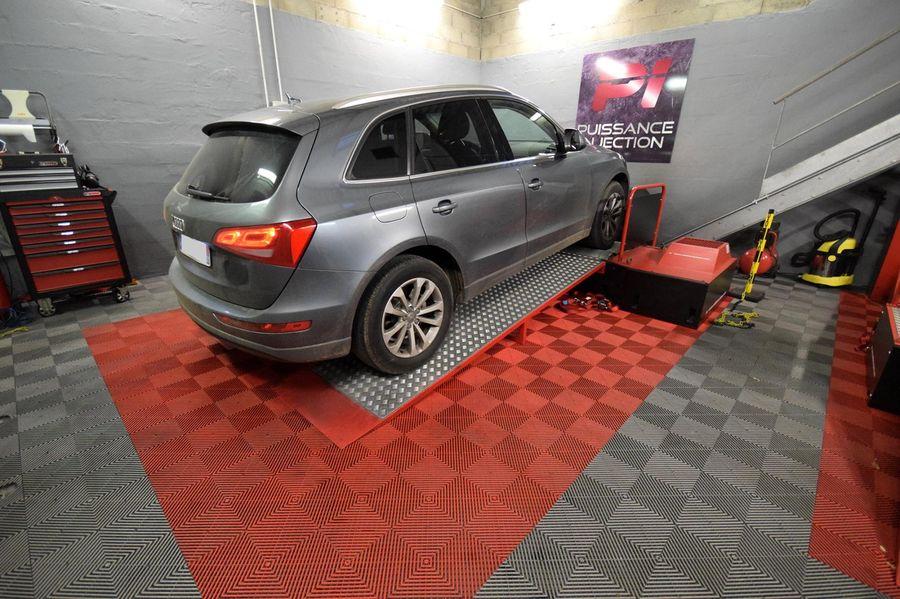 Reprogrammation moteur Audi Q5 8R 3.0 TDI 245