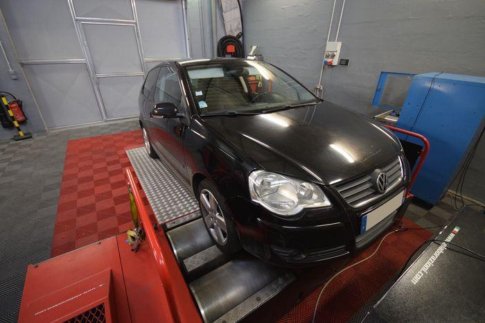 Reprogrammation moteur Volkswagen Polo 9N3 1.4 TDI BLUEMOTION 80